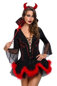 Women-Iblis-Devil-Costume-Halloween-Party-Cosplay-Sexy-Dress-Head-Piece-Pitch-Fork-Included-0