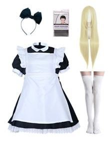 Women-Japanese-Maid-Dress-Lolita-Cosplay-Costume-Plus-Size-With-Wig-0