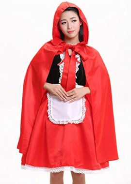 Women-Little-Red-Riding-Hood-COSTUME-Fancy-Dress-Hens-Party-HALLOWEEN-Outfit-0-1