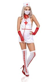 Women-Sexy-Surgeon-Apron-Costume-Naughty-Nurse-Surgical-Assistant-Adult-Role-Play-0