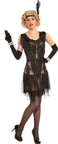 Womens-1920s-Charleston-Gatsby-Fancy-Party-Lacey-Lindy-Deluxe-Flapper-Dress-0