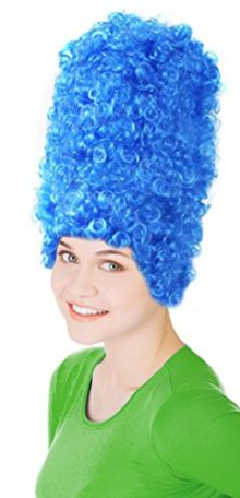 Womens-Blue-Beehive-Marge-Simpson-Wig-Costume-0