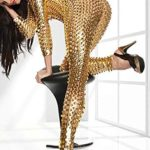 Womens-Halloween-Jumpsuit-Catsuit-Romper-Metallic-Bodysuit-Sexy-Clubwear-Stripper-Leather-by-Wonder-Pretty-0-1