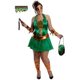 Womens-Plus-Size-Teenage-Mutant-Ninja-Turtles-Michelangelo-Costume-0-0
