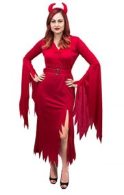 Womens-Red-Devil-Complete-Costume-Size-ML-0