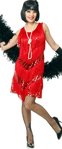 Womens-Red-Roaring-20s-Four-Tier-Flapper-Costume-Dress-0
