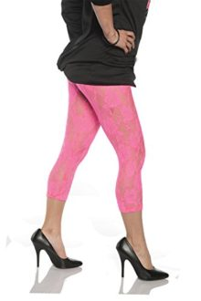 Womens-Retro-80s-Lace-Leggings-0