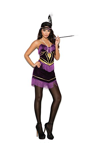 Women's Sexy 1920s Flapper Dress Adult Role Play Costume