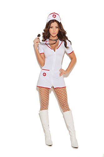 Women's Sexy RN Nurse Adult Role Play Costume
