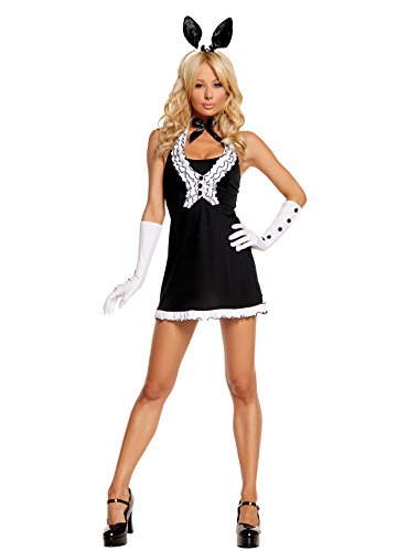 Women's Sexy Tuxedo Bunny Adult Role Play Costume