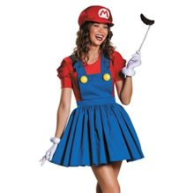 Womens-Super-Mario-Skirt-Cosplay-Adult-Costume-for-Halloween-Large-0