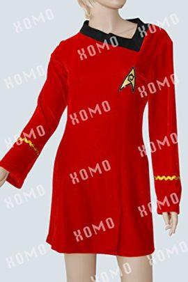 XOMO-Star-Trek-TOS-Engineering-Dress-Skant-Cosplay-Costume-0-0