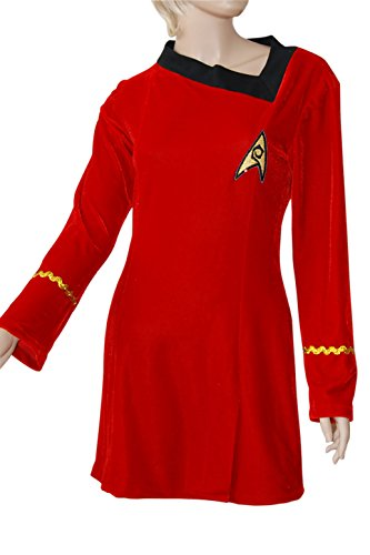 XOMO Star Trek TOS Engineering Dress Skant Cosplay Costume