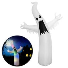 YUNLIGHTS-Halloween-Inflatable-Decorations-for-Halloween-6-Ft-Ghost-with-8-Multicolor-Lights-0