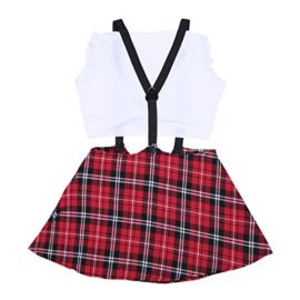 YiZYiF-Sexy-Schoolgirl-Uniform-Crop-Top-with-Pleated-Skirt-Set-Role-Cosplay-Costumes-0-4