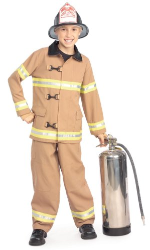 Young Heroes Child's Fire Fighter Costume