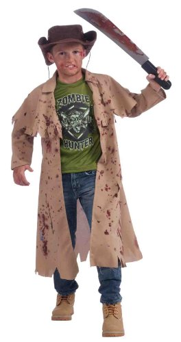 Zombie-Hunter-Complete-Costume-Kit-Childs-Medium-0-0