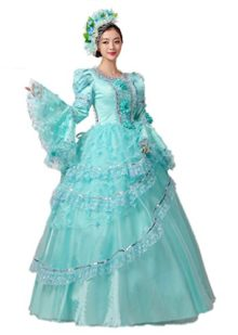 Zukzi-Womens-Deluxe-Victorian-Parties-Costume-Beauty-Princess-Dresses-0