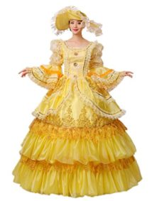 Zukzi-Womens-Flare-Sleeve-Fairy-Godmother-Costume-with-Free-Petticoat-0