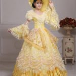 Zukzi-Womens-Yellow-Evening-Party-Dress-Gothic-Dress-0-0