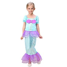 sophiashopping-Girls-Kids-Little-Mermaid-Princess-Party-Dress-Costume-0-0