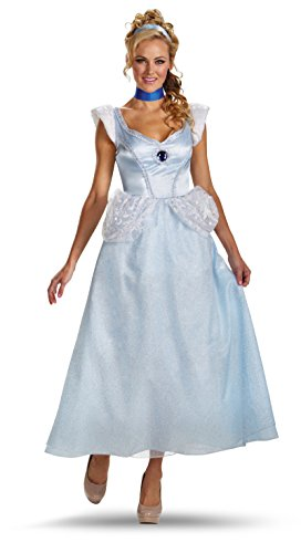 Adult Cinderella Costume Deluxe Disney Princess Costume 50485