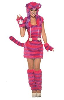 Adult-Size-Cheshire-Cat-Costume-Alice-in-Wonderland-fits-up-to-Size-12-0