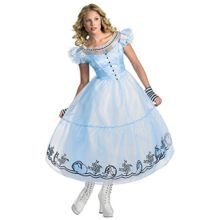 Alice-In-Wonderland-Womens-Adult-Deluxe-Blue-Dress-Movie-Costume-0