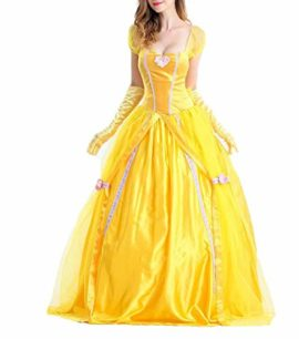 BADI-NA-Adult-Womens-Princess-Belle-Costume-Belted-Dress-Up-for-Halloween-Party-Show-Cosplay-0-1