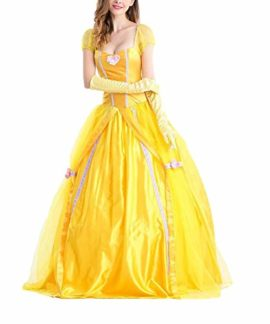 BADI-NA-Adult-Womens-Princess-Belle-Costume-Belted-Dress-Up-for-Halloween-Party-Show-Cosplay-0-2