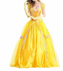 BADI-NA-Adult-Womens-Princess-Belle-Costume-Belted-Dress-Up-for-Halloween-Party-Show-Cosplay-0