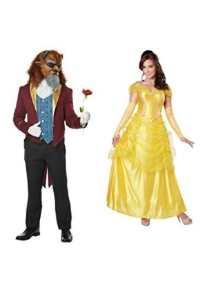 Beast-Men-and-Belle-Women-Couples-Costumes-0