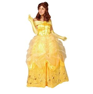 Beauty-and-The-Beast-Costume-Belle-Costume-TeenWomens-Princess-Costume-XSS-Size-0