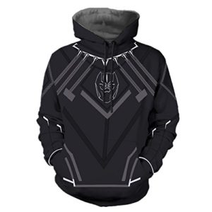 Black-Panther-Hoodie-TChalla-Wakanda-Face-Necklace-Film-Hoodie-Mens-Black-Pullover-Costume-0