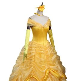 CLLMKL-Adult-Princess-Belle-Costume-Beauty-and-The-Beast-Cosplay-Dress-0-0