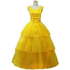 CLLMKL-Womens-Dress-for-Beauty-and-The-Beast-Princess-Belle-Cosplay-0