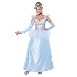 Classic-Cinderella-Womens-Costume-Disney-Princess-Fairy-Tale-Blue-Gown-Adult-0