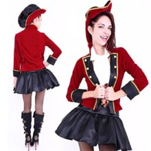 Club-Queen-Pirate-Captain-Lady-Costume-XS-to-Small-Size-0
