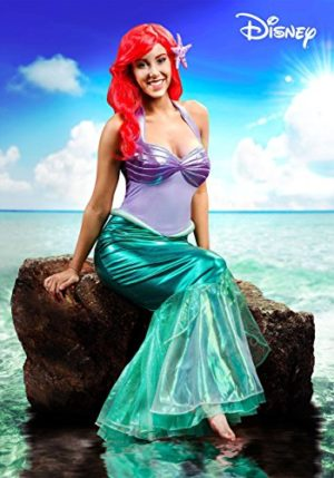 Disguise-Limited-Little-Mermaid-Ariel-Deluxe-Womens-Costume-L-0