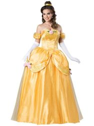 Disney-Womens-Beauty-and-The-Beast-Belle-Ultra-Prestige-Costume-Yellow-Medium-0