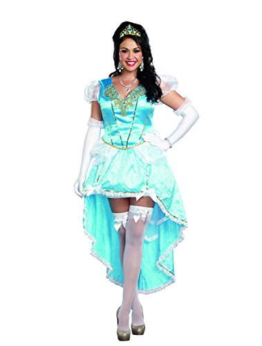 Dreamgirl Women's Plus-Size Fairytale Ball Gown Costume