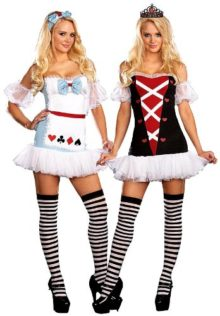 Dreamgirl-Womens-Reversible-Alice-In-WonderlandQueen-Of-Hearts-Costume-0