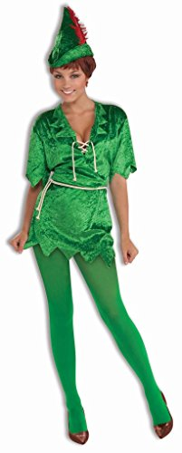Faerynicethings Adult Peter Pan Female Costume – Neverland Lost Boys – 2 Sizes