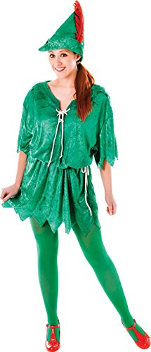 Green-Elf-Robin-Hood-Adult-Fancy-Party-Costume-Peter-Pan-Female-Uk-Size-10-14-0