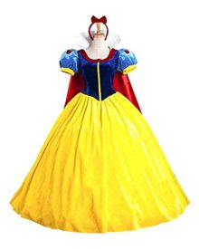 KUFV-Womens-Princess-Costume-Dress-Snow-White-Princess-Costume-With-Headband-0
