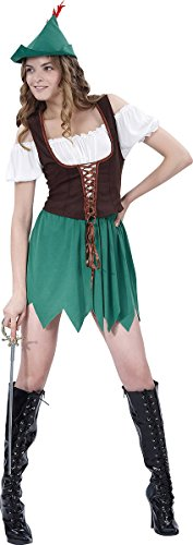 Ladies-Fancy-Dress-Costume-Peter-Pan-Party-Robin-Hood-Lady-Complete-Club-Outfit-0