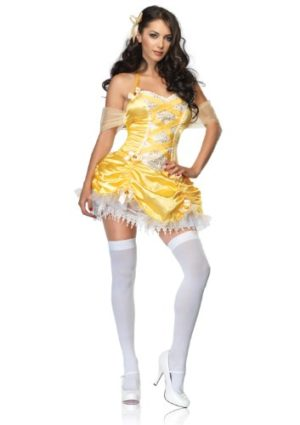 Leg-Avenue-Womens-Storybook-Beauty-Halter-Dress-With-Ruched-Skirt-0