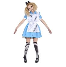 PATYMO-Death-of-Doll-Crazy-Alice-Costume-TeenWomens-XSS-Size-0