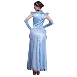 Quesera-Womens-Cinderella-Dress-Stage-Halloween-Deluxe-Blue-Adult-Princess-Dress-0-0