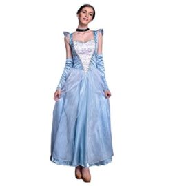 Quesera-Womens-Cinderella-Dress-Stage-Halloween-Deluxe-Blue-Adult-Princess-Dress-0